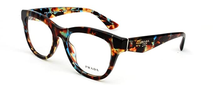 69c225ed63 Image Unavailable. Image not available for. Color  Prada PR04QV Eyeglasses-NAG 1O1  Havana Spotted Blue-49mm