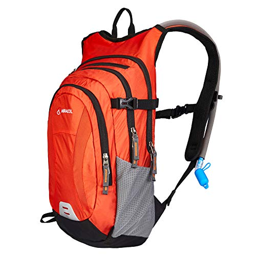 MIRACOL Hydration Backpack Packs with 2L Auto Shut-Off Water Bladder, Insulated Hydration Backpacks for Hiking, Cycling…