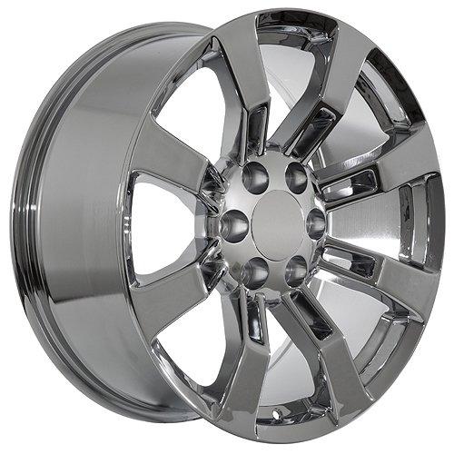 20 inch chrome wheels rims for gmc sierra 1500 yukon denali buy online in uae automotive. Black Bedroom Furniture Sets. Home Design Ideas
