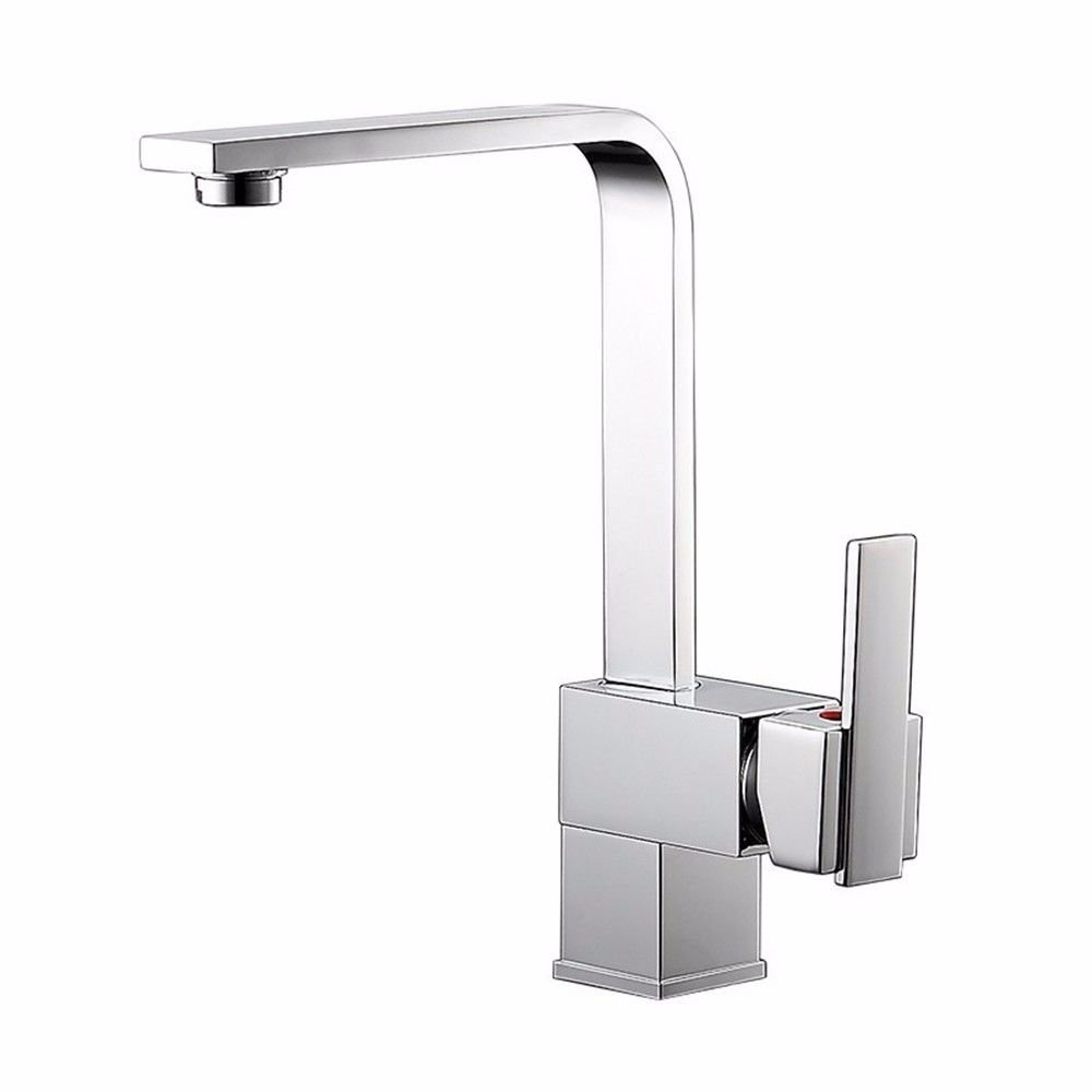 ETERNAL QUALITY Bathroom Sink Basin Tap Brass Mixer Tap Washroom Mixer Faucet The kitchen full copper cold water faucet single-Mixing Faucet Kitchen Sink Taps
