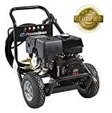Briggs & Stratton PowerBoss Gas Pressure Washer 3800 PSI 4.0 GPM Powered by HONDA GX390 Engine with Triplex Pump, 5 Nozzles, 50' High-Pressure Hose & Detergent Injection