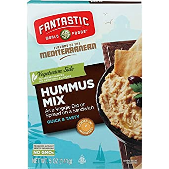 Fantastic World Foods Mix - Hummus - 5 oz - case of 6
