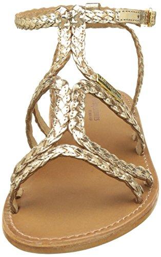 Oro Tropéziennes Scarpe or Cinturino Con Les Bounty Donna Da H0Tq0fR1