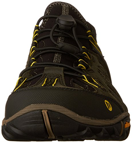 Merrell All Out Blaze Sieve - Zapatos de Low Rise Senderismo Hombre Multicolor (Olive Night)