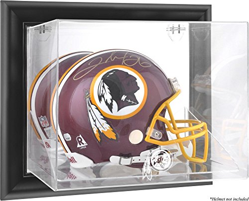 Washington Redskins Wall Mounted Full Size Helmet Display Case by Mounted Memories