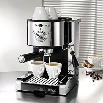 Beem Germany Espresso Perfect Ultimate 20 Bar Máquina de espresso (con Italiano 20 Bar profesional de Bomba y espumador de leche integrado, ...