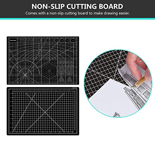 KENTING A3 Drawing Light Board, USB Power Sketch Light Pad with Stepless Adjustable Brightness, Ultra-Thin 5mm Copy Board for Diamond Art, Tracing, Tattoo Drawing, Sketching, Animation, Drawing