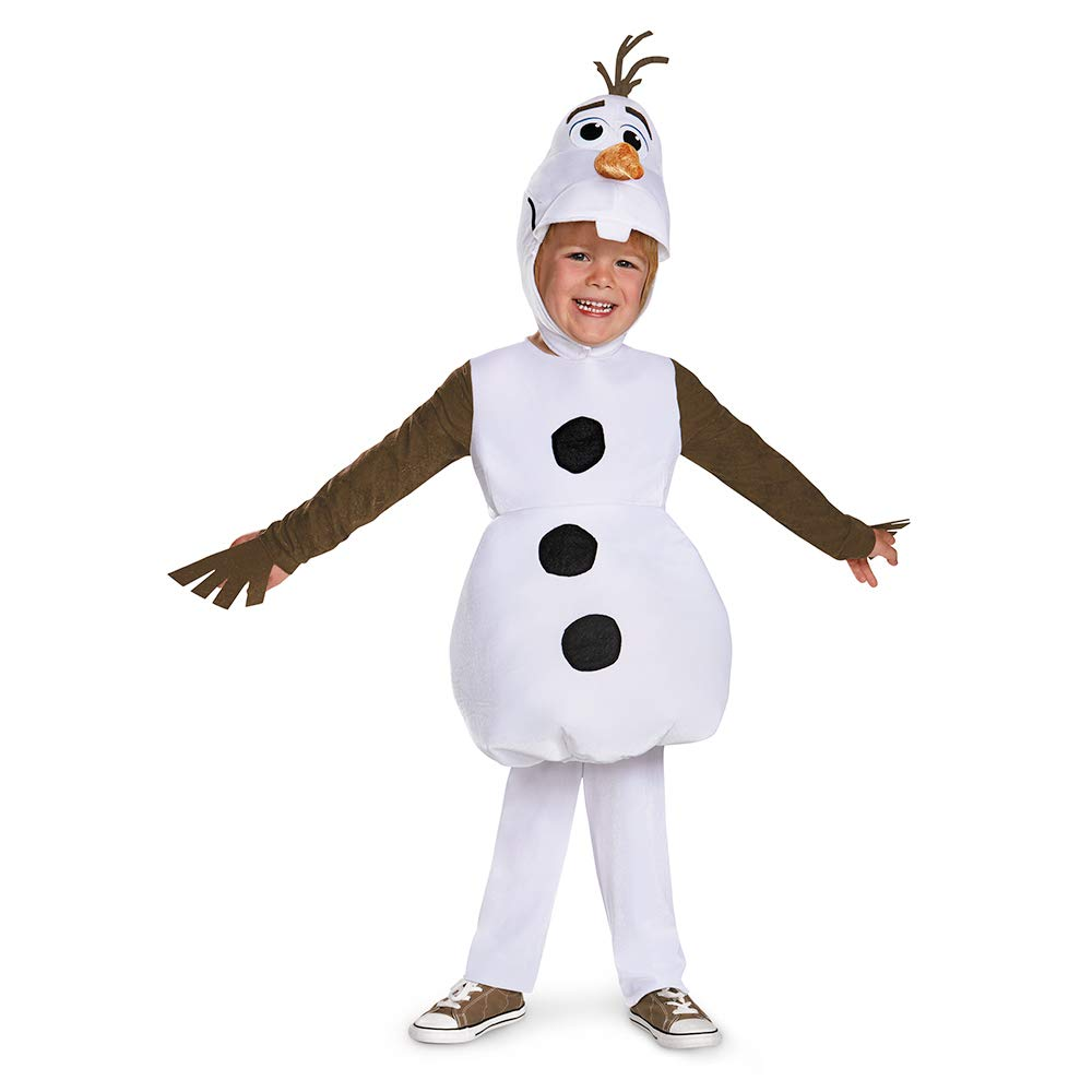 Disguise Olaf Toddler Classic Costume, Medium (3T-4T) by Disguise ...