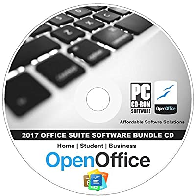 2017 Office Suite - Professional, Business, Home and Student CD for Windows 10, 8.1 8 7 Vista XP 32 64bit - Alternative to Microsoft Office by Apache OpenOfficeTM - Compatible with Word & Excel.