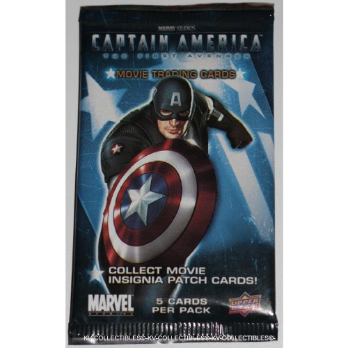 Marvel Captain America Movie Trading Card Sealed Pack