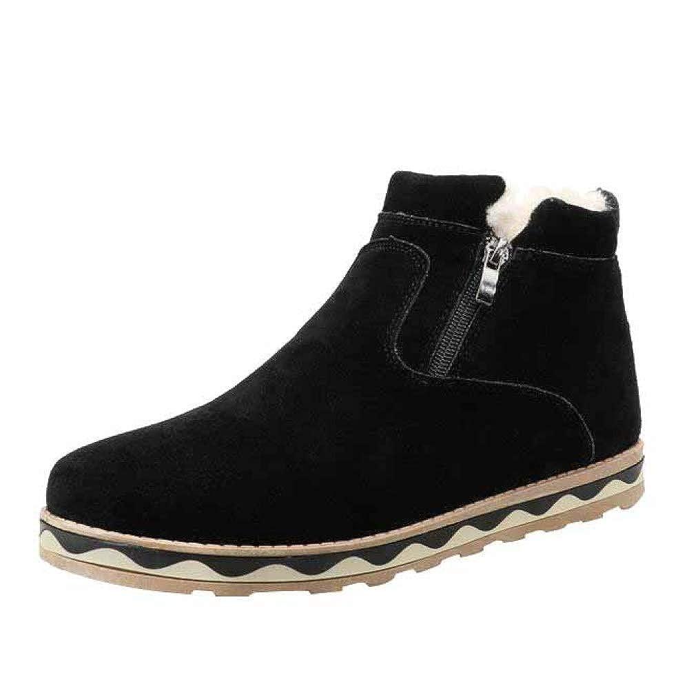 Men's Work Utility Footwear Herbst- Und Winterschuhe Aus Mattem Leder Und Dicken Warmen Baumwollschuhen Sowie Lässige Herrenschuhe Aus Samt