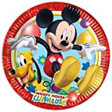 Mickey Mouse Clubhouse Party - Playful Mickey Paper Plates x 8