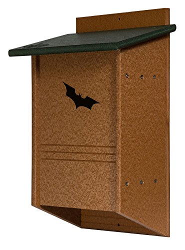 Green Meadow 40 Colony Large BAT House Backyard Mosquito Control USA Amish Handmade Recycled PolyMeasures: 11