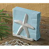 Tropical Nautical Beachy Starfish Napkin Holder Painted Metal