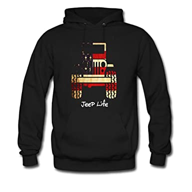 863d0d288 Amazon.com: DIYCN Custom Jeep Hoodies, Personalized Jeep Sweatshirt for  Men: Clothing
