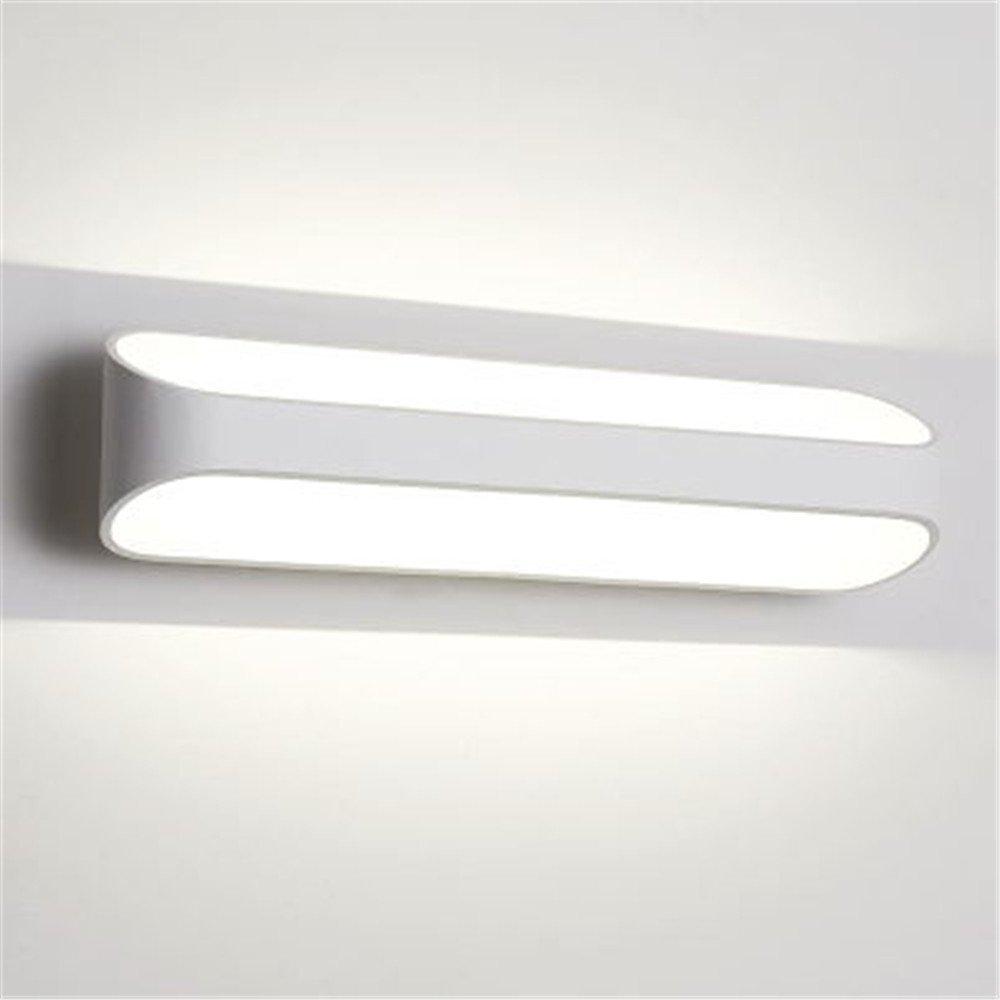 Wandleuchte Led Aluminium Kreative Schlafzimmer Licht Einfache Moderne Nachttisch Arbeitszimmer Treppe Terrasse Veranda Licht,41X10cm