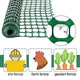 Houseables Plastic Mesh Fence, Construction Barrier