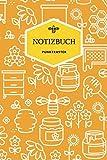 Imker Notizbuch punktraster: für Imker, Bienen - und Honigfreunde | mit Seitenzahl & Inhaltsverzeichnis |  ca. A5  | + 120 Seiten PUNKTRASTER | Cover ... Papier | Softcover | (German Edition)
