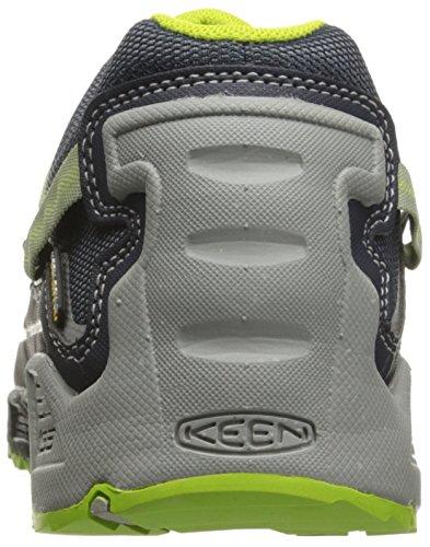 Keen Versatrail WP, Stivali da Escursionismo Uomo Grau (India Ink/Macaw)