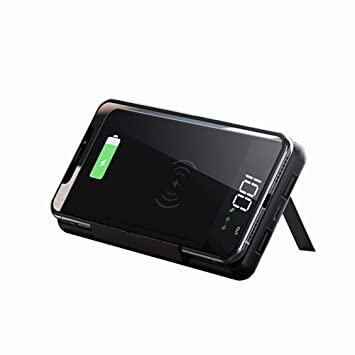 MYYING ELE Cargador Inalámbrico Power Bank, 10000mAh ...