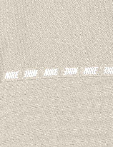 bianca Felpa Nike con cappuccio 885367 donna nera 11g0fqKy