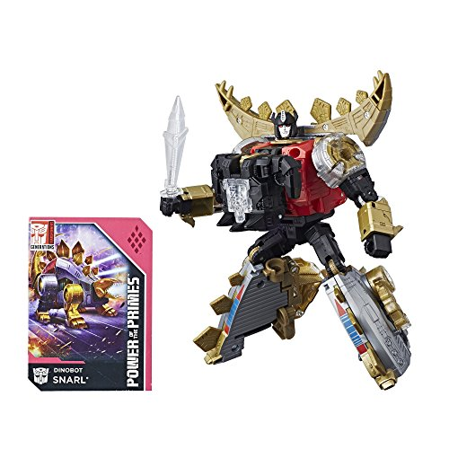 - Transformers Generations Power of the Primes Deluxe Class Dinobot Snarl