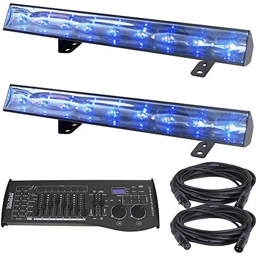 ADJ American DJ Eco bar UV DMX LED Black Light 2-Pack w/ DMX Controller by ADJ American DJ (Image #4)