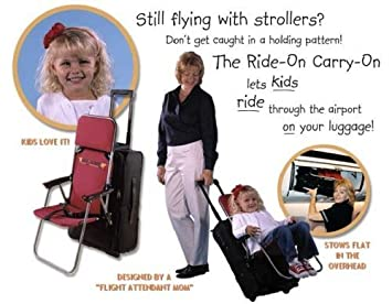 Amazon.com: Ride On Carry On Child Seat Luggage Attachment: Baby