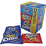 Nabisco Variety Snack Pack 36 Pack (12-Mini Chips Ahoy,12- Nutter Butter Bites,12- Mini Oreos)