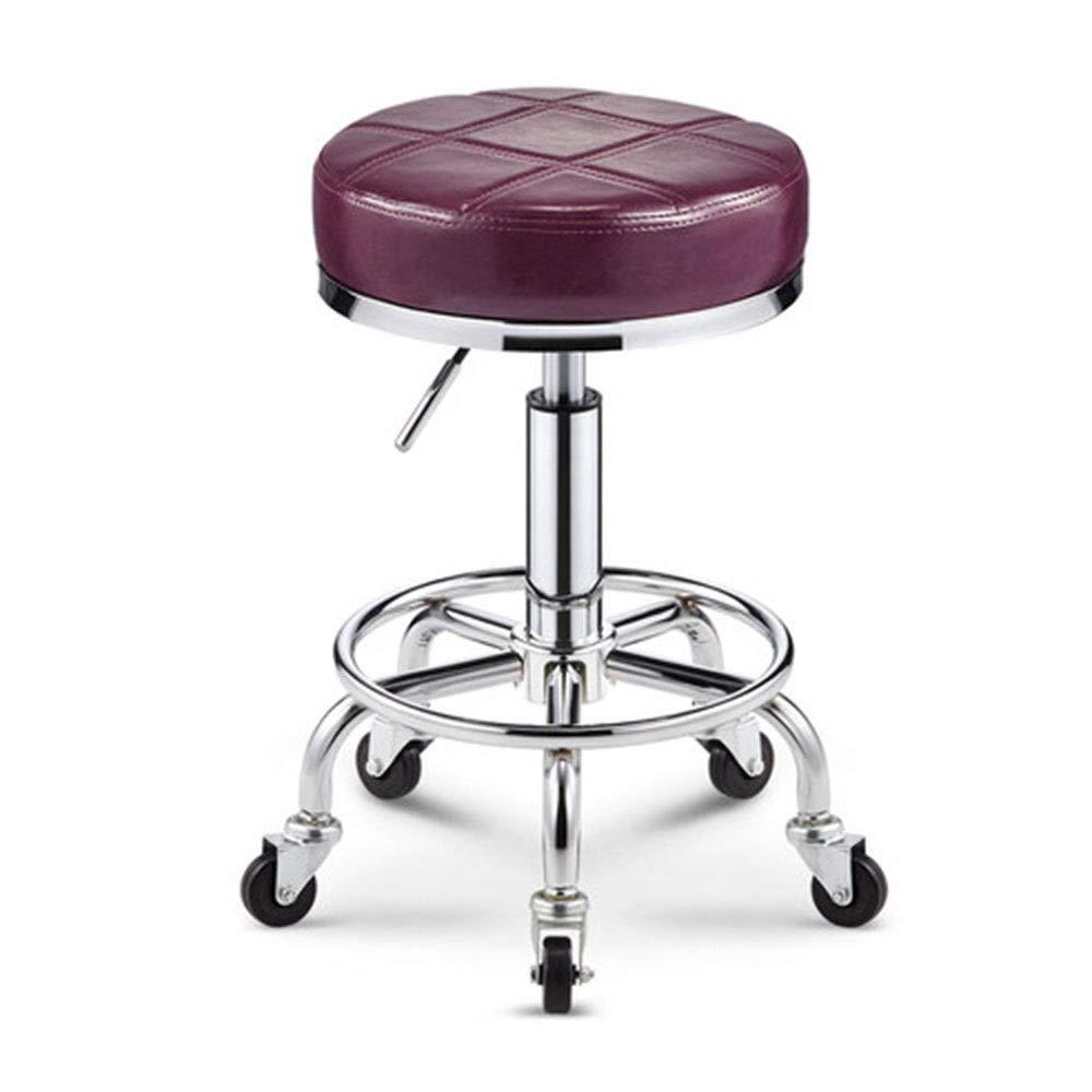 F Bar Chair Beauty Stool redate Beauty Chair redate High Foam Sponge Lifting 7 colors 1 Size (color   G)