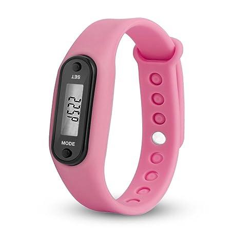 Relojes Hombre Digitales 💝💞 Yesmile Run Step Watch Pulsera Podómetro Relojes Contador de calorías Relojes Digitales Relojes LCD a Distancia Caminando: ...