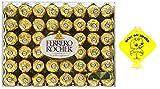 Chocolate Assorted Ferrero Rocher Fine Hazelnut Chocolates, Flat 48 Count, 21.2 oz. (48 Count)