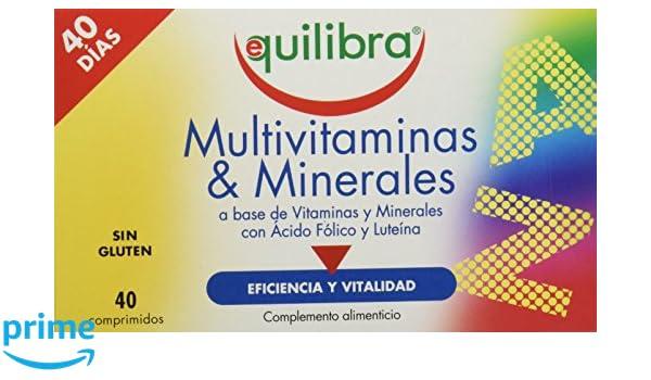 Equilibra Multivitaminas y Minerales - 48 gr: Amazon.es ...