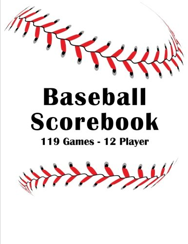 Baseball Scorebook: Stat Tracking - 119 Single Team Games