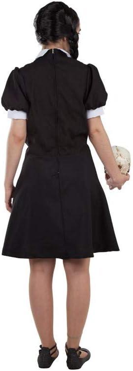 DISBACANAL Disfraz de Miércoles Adams Mujer - -, L: Amazon.es: Juguetes y juegos