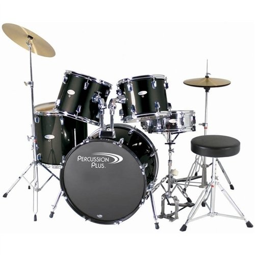 Percussion Plus PP3350 5-piece Fusion Drumset w/20