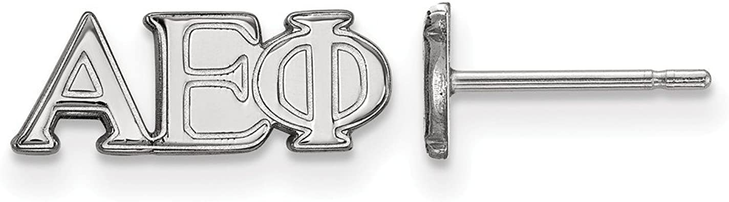 925 Sterling Silver Rhodium-plated Laser-cut Washington State University Dangle Ball Earrings