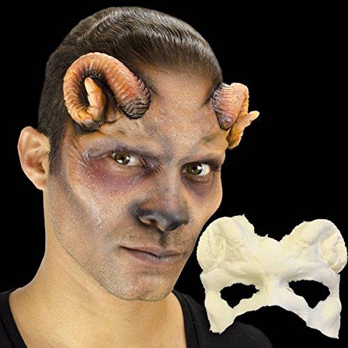(Cinema Secrets Woochie Foam Prosthetics - Professional Halloween and Costume Facial Accessories - Ram 1/2 Face)