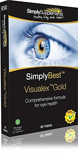 Visualex Gold - 60 comprimidos - Hasta 2 meses de suministro - Con Luteína y Zeaxantina