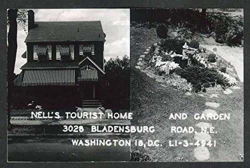 Nell S Tourist Home Garden 3028 Bladensburg Rd Washington Dc Rppc