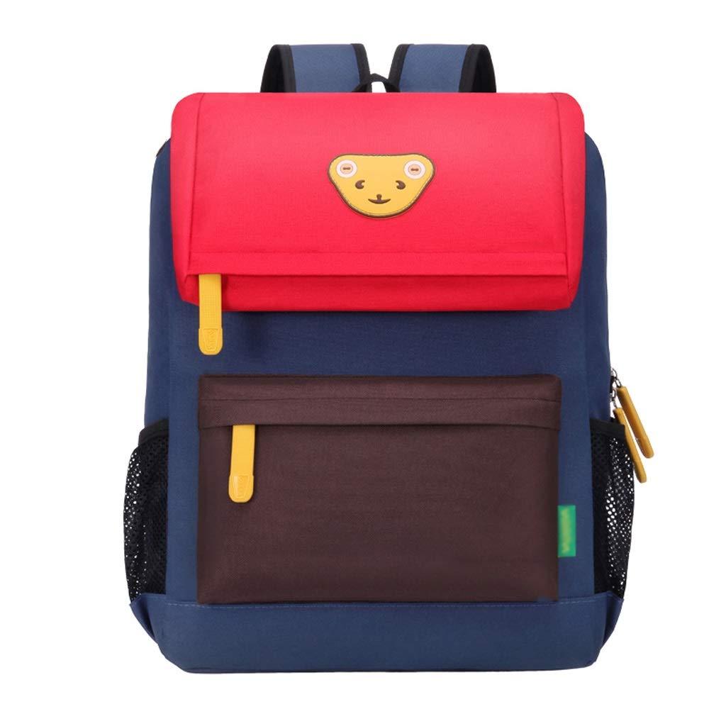 Zmsdt Niñas Niños Mochilas Escolares 1-2 Chicas Grado 3-4-6 Niños Niñas Mochilas Cute Childrens College Windbags (Color : Red, Tamaño : Small): Amazon.es: ...
