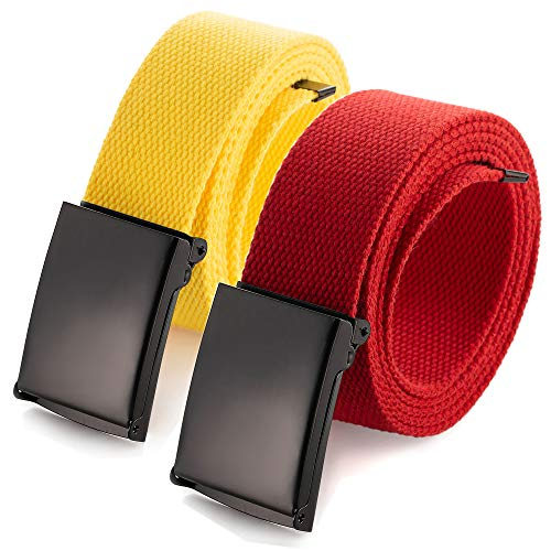 - Cut To Fit Canvas Web Belt Size Up to 52