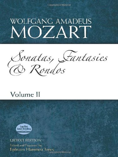 Sonatas, Fantasies and Rondos Urtext Edition: Volume II (Dover Classical Music for Keyboard and Piano Four Hands) ()