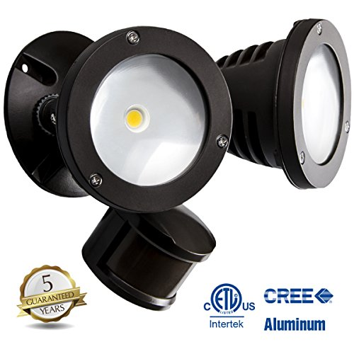 topele security light 2200lm motion sensor outdoor flood light