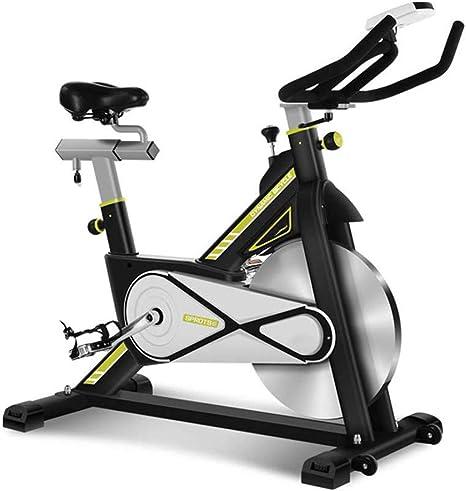 LieYuSport Bicicleta Estática de Fitness,Bicicleta Spinning Ajuste de Resistencia Continua,Bicicleta Gimnasio Sensores de Pulso en Manillar Resistencia Ajustable Manillar y Asiento Estable y Cómodo: Amazon.es: Deportes y aire libre