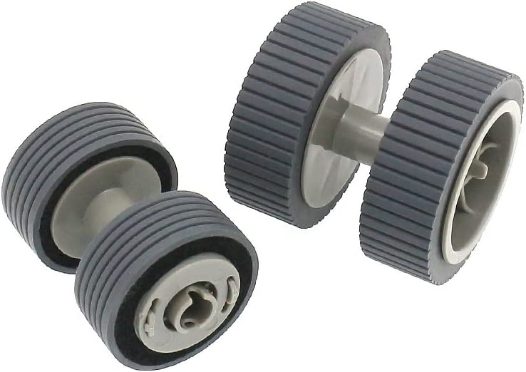 S-Union Replacement Scanner Brake and Pick Roller Pickup Roller Set for 6125 6225 6130Z 6230 6140 6240 6120 Fi-6125 Fi-6225 Fi-6130Z Fi-6230 Fi-6140 Fi-6240 Fi-6120 Part NO PA03540-0001