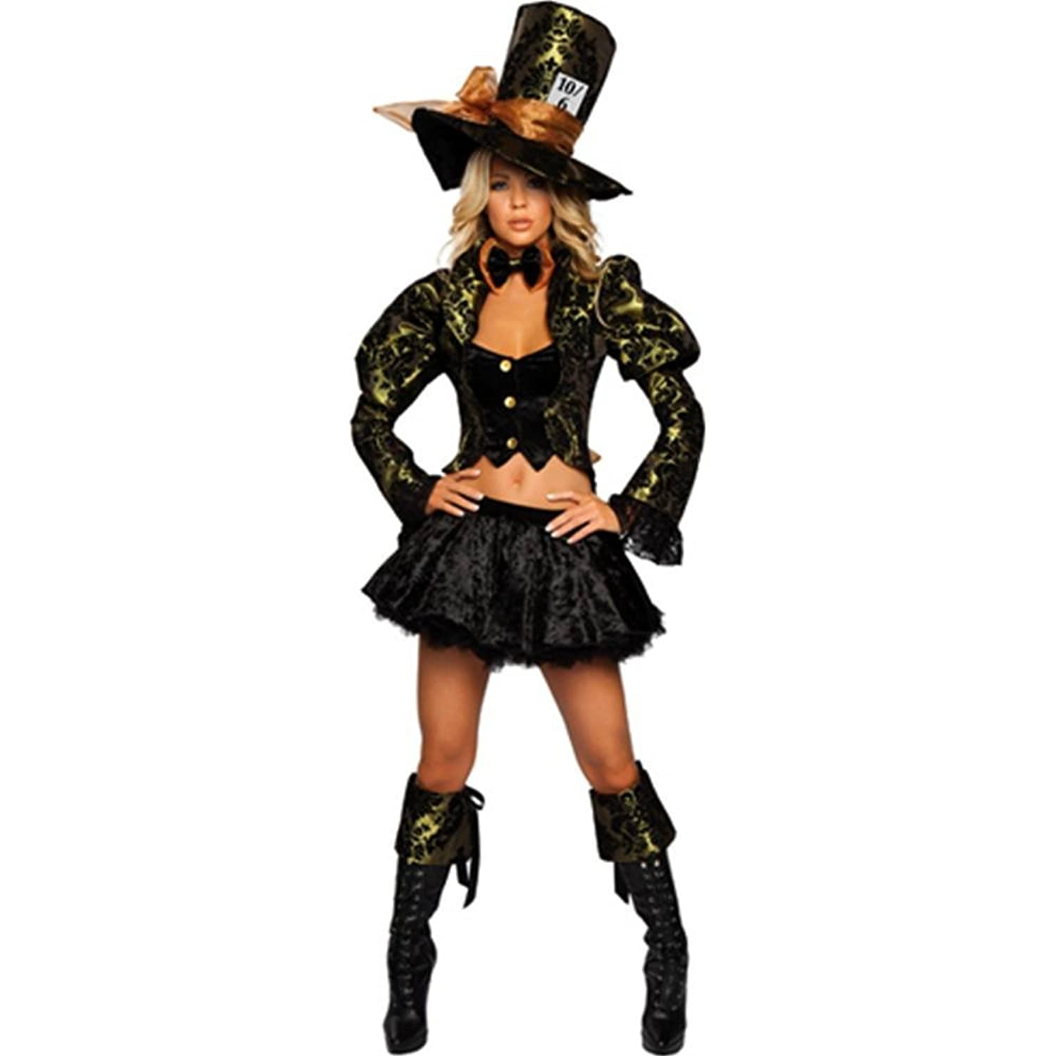 Mad Hatter Costume Fancy Dress Accessory One Size Punk Head Hat