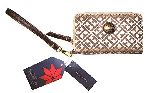Tommy Hilfiger Wristlet Signature Zip Around Clutch - Handbags Sale Hilfiger Tommy On
