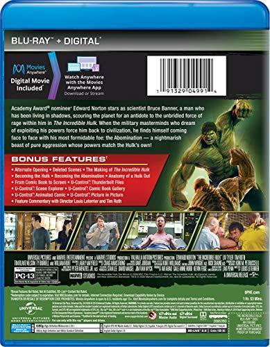 INCREDIBLEHULK08 BD MARVEL ART [Blu-ray]