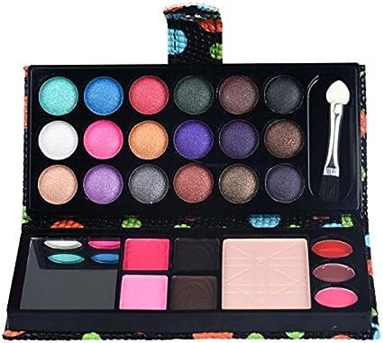 Rawdaw sombras de ojos, colorete, brillo labial, polvos. Paleta de maquillaje.: Amazon.es: Belleza